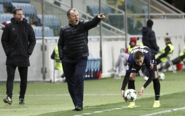 Український футбольний клуб залишився без головного тренера