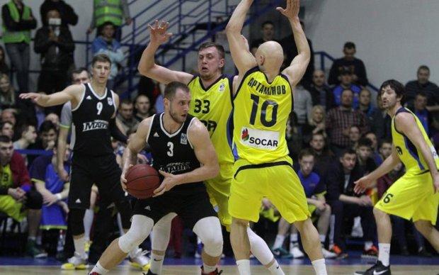 Українські баскетбольні клуби не допущені до єврокубків