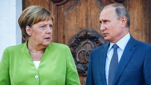 """Путин получил """"по шапке"""" от Меркель, дело в Украине"""