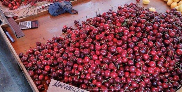 """Мелитополь завалили """"золотыми"""" фруктами - арбуз, черешня и кукуруза по цене наших слез"""
