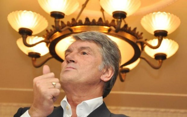 Як же я себе люблю: Ющенко провів любим друзям майстер-клас із нарцисизму