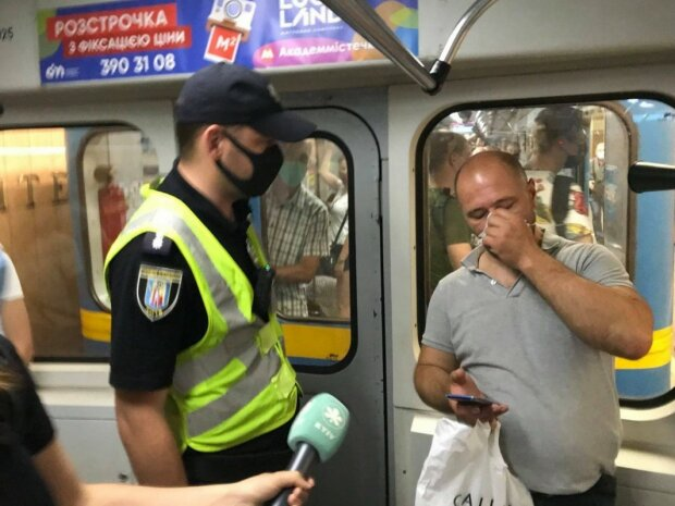 Полиция в метро, фото из свободных источников