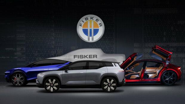 Презентация автомобилей, фото: Fisker
