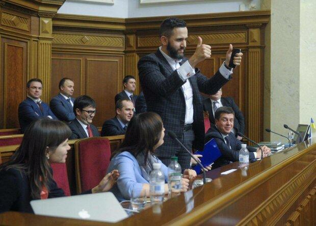 Нефедов в Раде, фото facebook