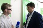 """Разумков з команди Зеленського заговорив українською в телеефірі: """"Розуміємо одне одного..."""""""