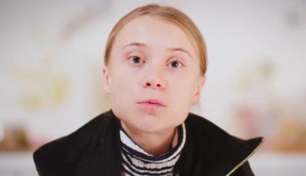 Грета Тунберг, скриншот с видео