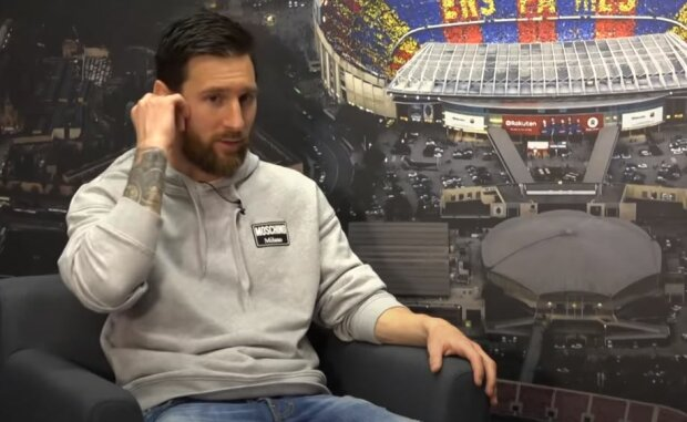 Лионель Месси, скриншот: YouTube