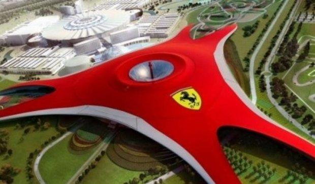 Ferrari привчить китайців до розкоші парком розваг