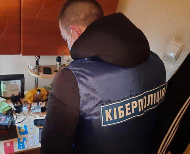 Киберполиция разоблачила мошенников, фото: facebook.com/cyberpoliceua