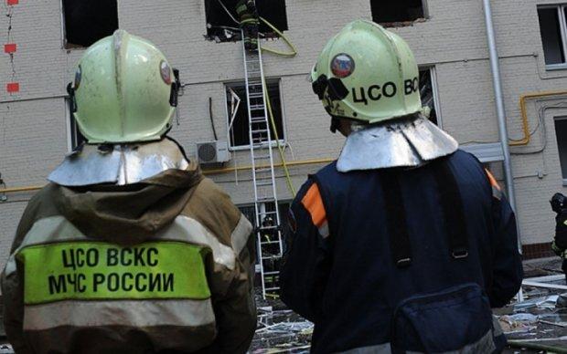 Опубликовано видео с места взрыва на московском заводе