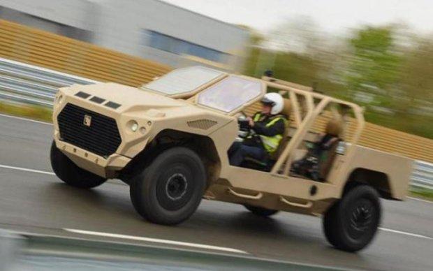 Maserati превратили в военный броневик