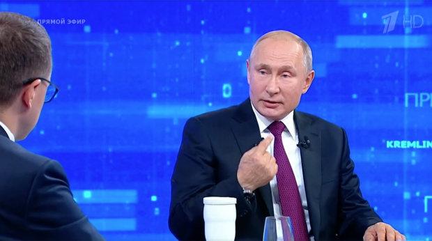 """Путін під час """"прямої лінії"""""""