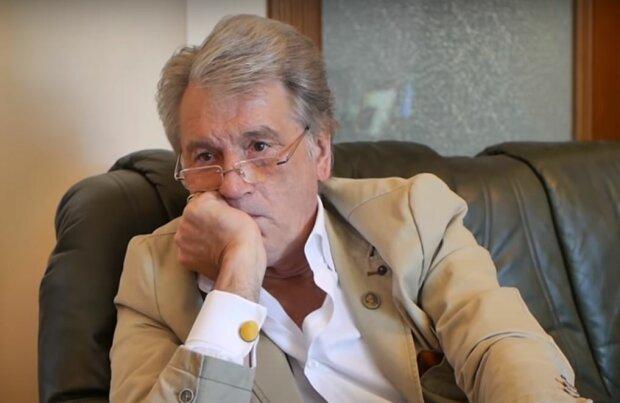 Виктор Ющенко, скриншот: YouTube