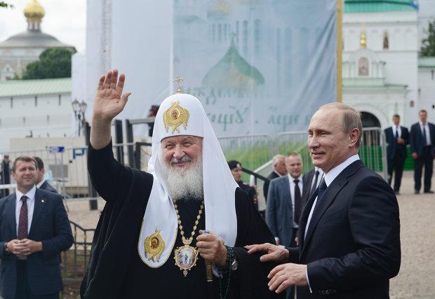 Володимир Путін і Патріарх Кирило