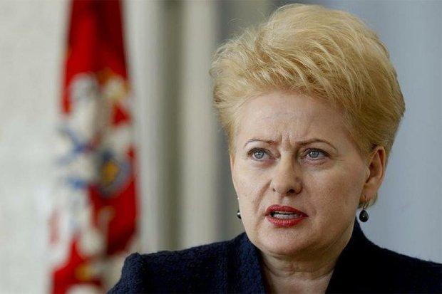 Грібаускайте різко відповіла Кремлю щодо незалежності Прибалтики