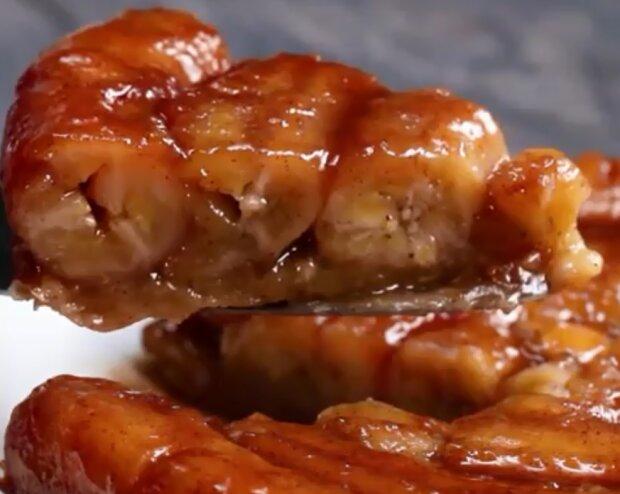 Банановый пирог, скриншот видео