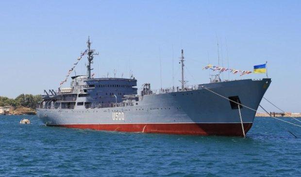 Поврежденный корабль «Донбасс» восстановил боевые возможности