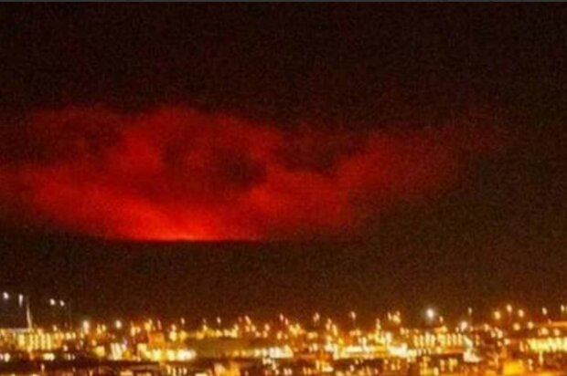 Виверження вулкану в Ісландії, фото: Пульс України