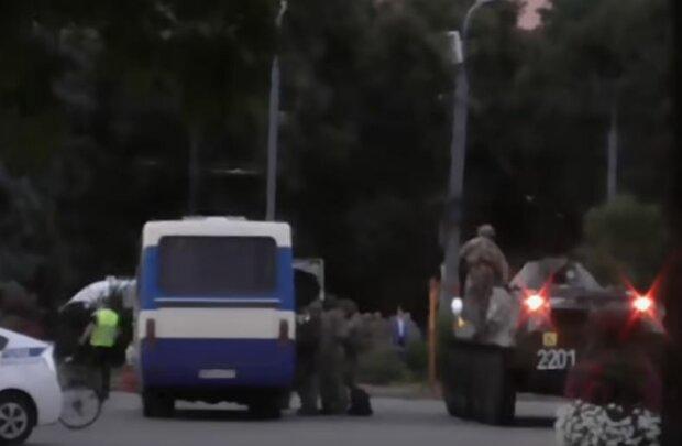 Інцидент в Луцьку, скріншот: YouTube