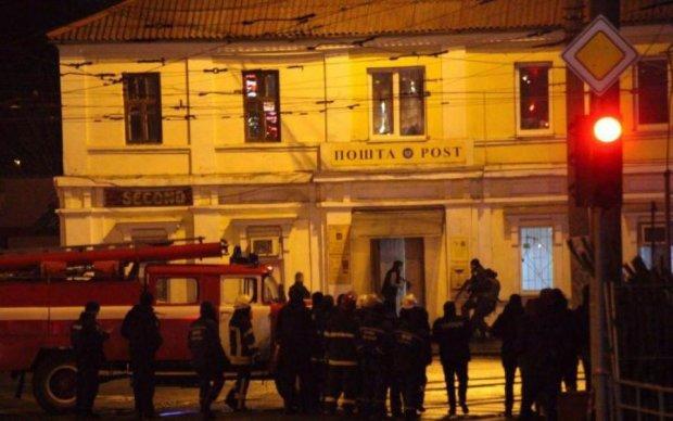 Захват почты в Харькове: известна судьба преступника