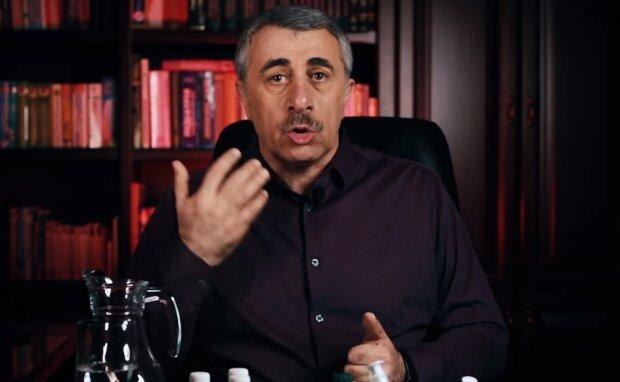 Евгений Комаровский, скрин из видео