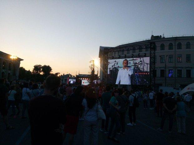Святослва Вакарчук завершил предвыборный тур концертом в Киеве