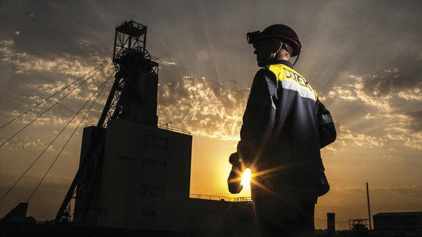 зупинка шахт, фото: metallurgprom