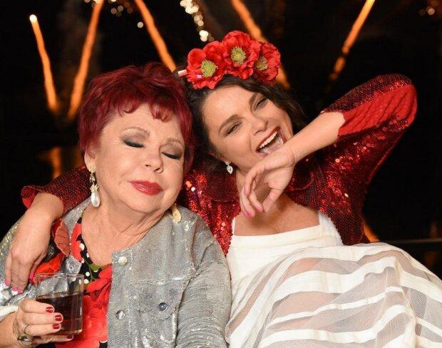 Наташа Королева с мамой, фото Instagram