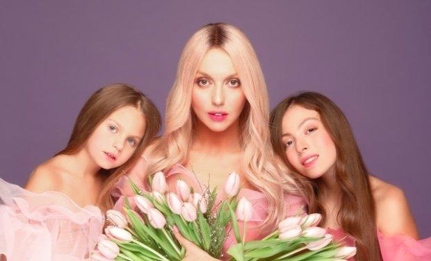 Полякова восхитила нежными красавицами-дочками: у талантливой мамы талантливые дети