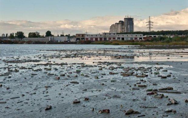 Токсичне озеро загрожує киянам онкозахворюваннями