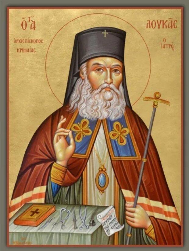 Святой Лука, фото: свободный источник