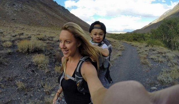 Маленький калифорниец покоряет вершины гор (фото)