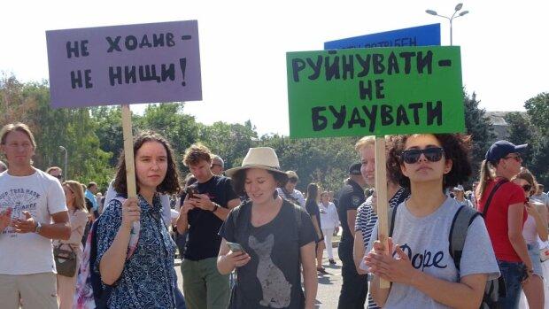 """""""Не дамо"""": Саакашвілі з Садовим підставили плече Ройтбурду, аплодує вся Одеса"""