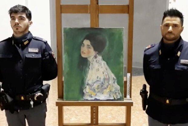 """Італійці знайшли викрадену """"Пані"""" Густава Клімта: розкрито найбільшу загадку світу мистецтва"""