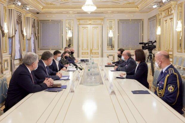 Зустріч з головою Військового комітету НАТО, president.gov.ua