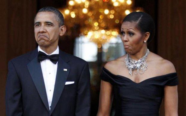Мишель Обаму застали в неловкий момент: пикантные фото