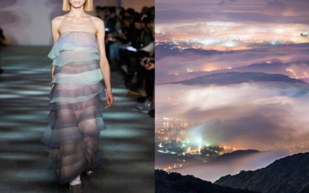 Фотограф показала, як природа впливає на моду