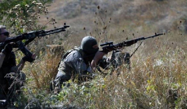 Военные остановили диверсантов рядом с поселком Ленинское
