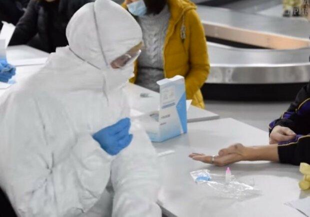 """Коронавірус не пройде! У """"Борисполі"""" пасажирам з """"небезпечних"""" країн роблять експрес-тести, і це діє"""