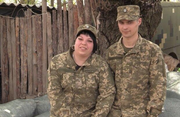 Юлия и Александр, скриншот из видео