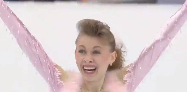 Перша в історії незалежної України олімпійська чемпіонка Оксана Баюл, скріншот: Youtube