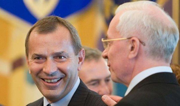 Азаров и Клюев запускают новую партию в Украине