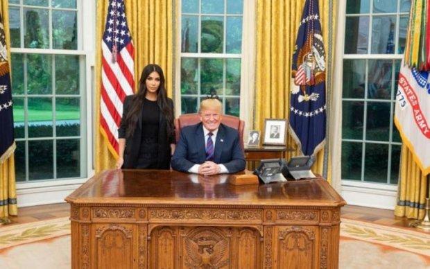 Кім Кардашьян націлила багажник в президентське крісло