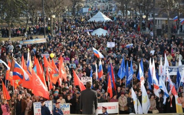 """Кадыров сгоняет чеченцев на митинг в поддержку """"Крымнаша"""""""