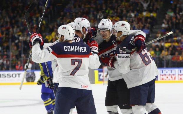 Букмекери віддають перевагу США у матчі з Латвією на ЧС-2017 з хокею