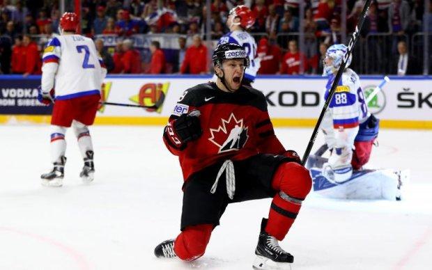 ЧС-2017 з хокею: Канада блискуче розібралася з Росією в півфіналі