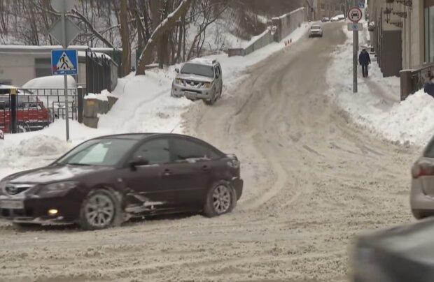 Автомобілісти, кадр з відео