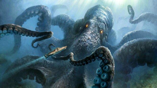 З темних глибин океану вирвалося неймовірне чудовисько: бачить все без очей