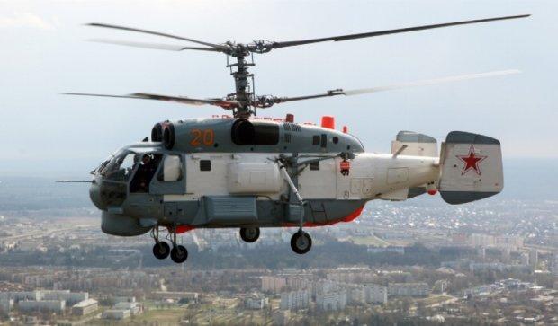 Російські вертольоти та безпілотники ведуть розвідку на межі окупованого Криму