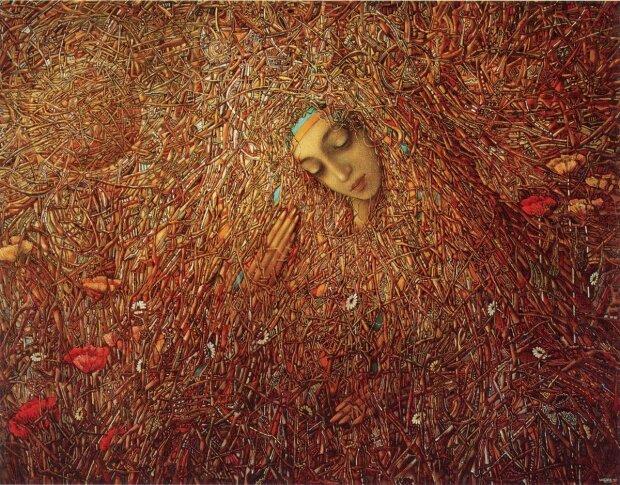 Картина Івана Марчука, Фото з сайту Пінтерест